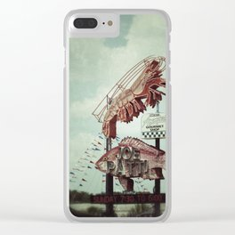Seafood Clear iPhone Case
