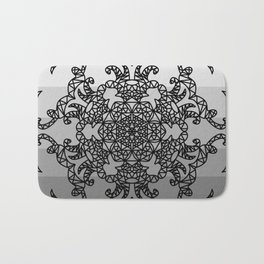 Crystallized Hope Mandala Bath Mat