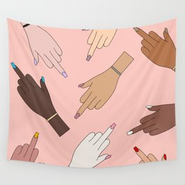 Worldwide Babes Wall Tapestry