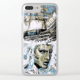 Experimental Fiction Clear iPhone Case