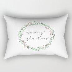 Christmas Design Rectangular Pillow