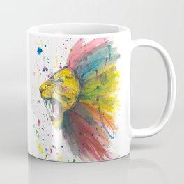 Lion - Watercolor Painting Coffee Mug