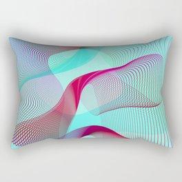 ·the Sound of love - Geometric minimal art Rectangular Pillow