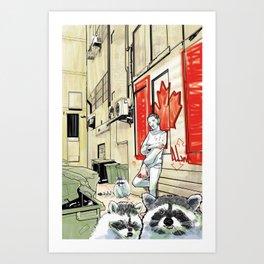 DSA - CANADIAN RUTHLESS Art Print