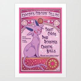 Fortune Telling Art Print