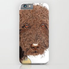 Chocolate Labradoodle iPhone 6s Slim Case