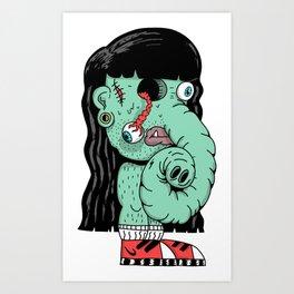 Alienfanta Art Print