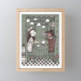 When it Rains Outside Framed Mini Art Print