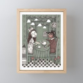 When it Rains Outside Framed Mini Art Print