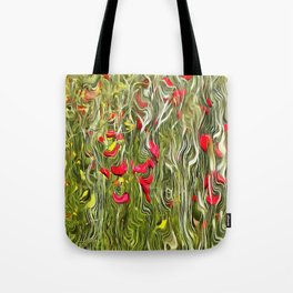Poisoned Poppies Tote Bag
