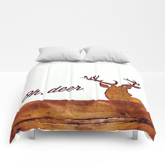 Oh, deer. Comforters