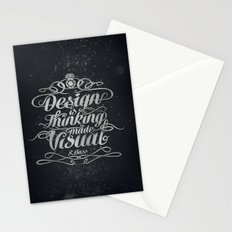 Design is.... Stationery Cards