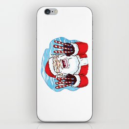 Santa Claws iPhone Skin