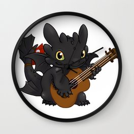Dragon Rocker Wall Clock