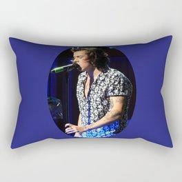 You Look So Good in Blue Rectangular Pillow