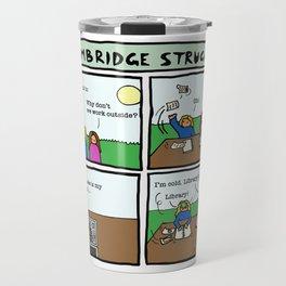 Cambridge struggles: Sun Travel Mug
