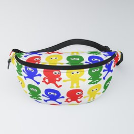 4 Color Cute Ninja Fanny Pack