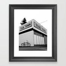 Tool Town Framed Art Print