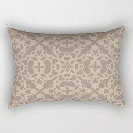 Abstract geometric Pattern 64 Rectangular Pillow
