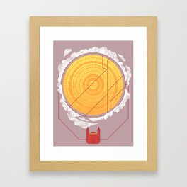 Sundome Framed Art Print