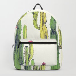 vertical cactus Backpack