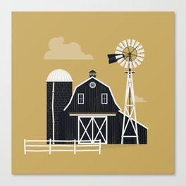 Life Is Better On The Farm Canvas Print