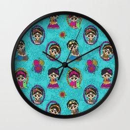 Little Animal Friends Wall Clock