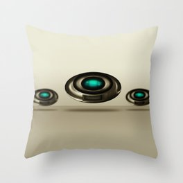 ORB Interface Throw Pillow