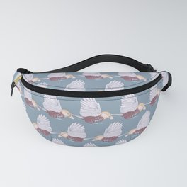 Birds Queue Fanny Pack