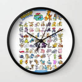 Pokémon - Gotta derp 'em all! - White edition Wall Clock