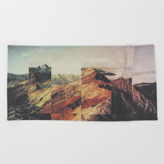 Fractions A89 Beach Towel