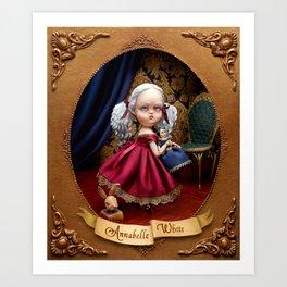 Annabelle White Art Print