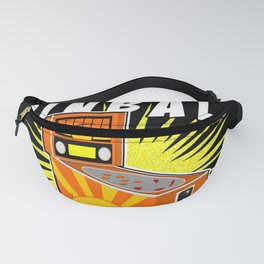 Born For Pinball Funny Gamer Saying Fanny Pack