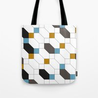 depeche mode Tote Bags featuring Mode by blacknote