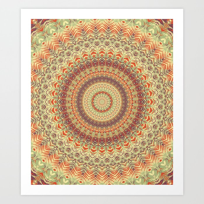 Mandala 467 Kunstdrucke