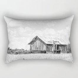 Saluda Barn No. 15 B&W Rectangular Pillow