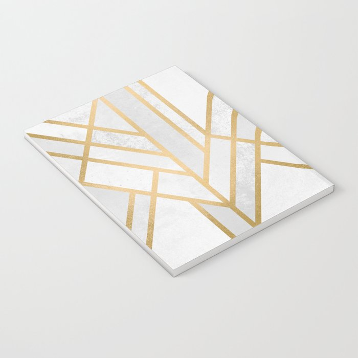 Art Deco Geometry 2 Notebook