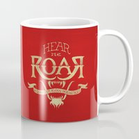 lannister Mugs featuring Game of Type by Jango Snow