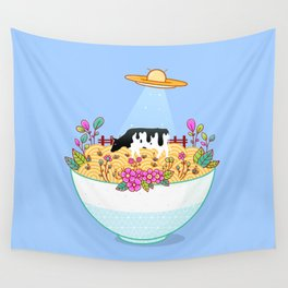 Kidnapped During Ramen Trip Wall Tapestry