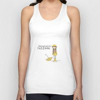 newspaper Tank Tops featuring Newspaper Balloon Promo by Newspaper Balloon
