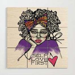 #STUKGIRL AVE Wood Wall Art