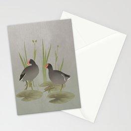 Florida Gallinules Stationery Cards