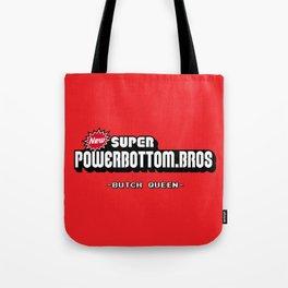 BQ - Super Power Bottom Bros Tote Bag