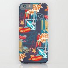 Spaceships and Badges iPhone 6 Slim Case