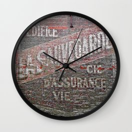 Got Your Back  Wall Clock