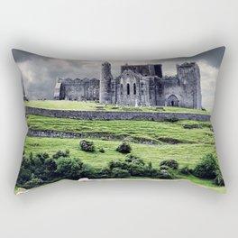 World Popular Historic The Rock Of Cashel Castle County Tipperary Ireland Europe Ultra HD Rectangular Pillow