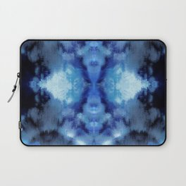 Blue Cloud Batik Laptop Sleeve