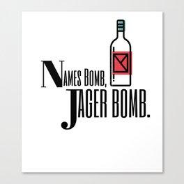 Secret Agent Jager Canvas Print