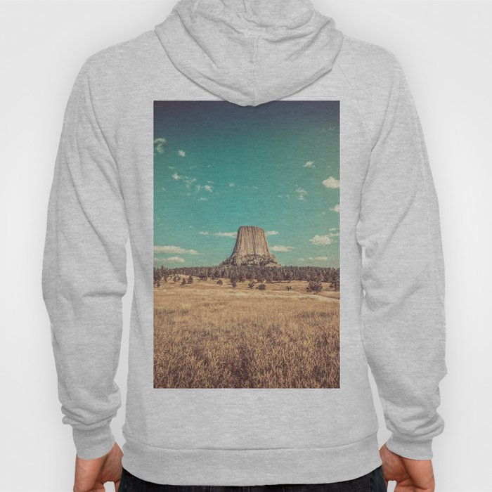 Devil's Tower National Monument Wyoming Hoody