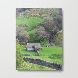 A Coverdale Barn Metal Print